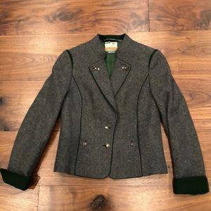 Resi Hammerer Tyrolean style wool jacket.